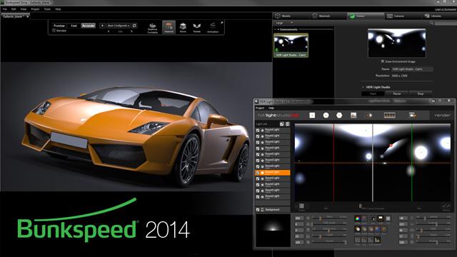 Bunkspeed 2014 and HDR Light Studio