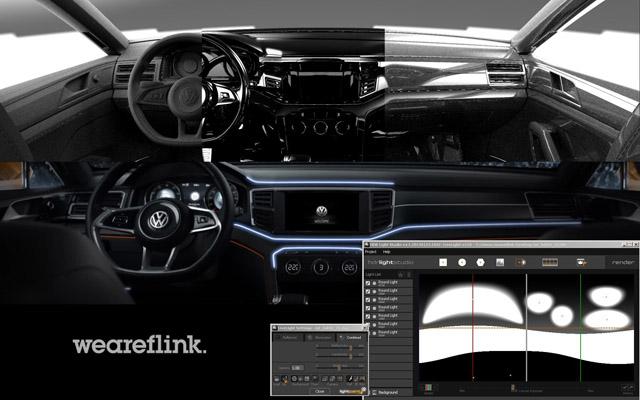 HDR Light Studio Interior Lighting