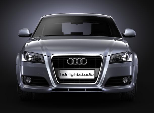 KeyShot render car lighting