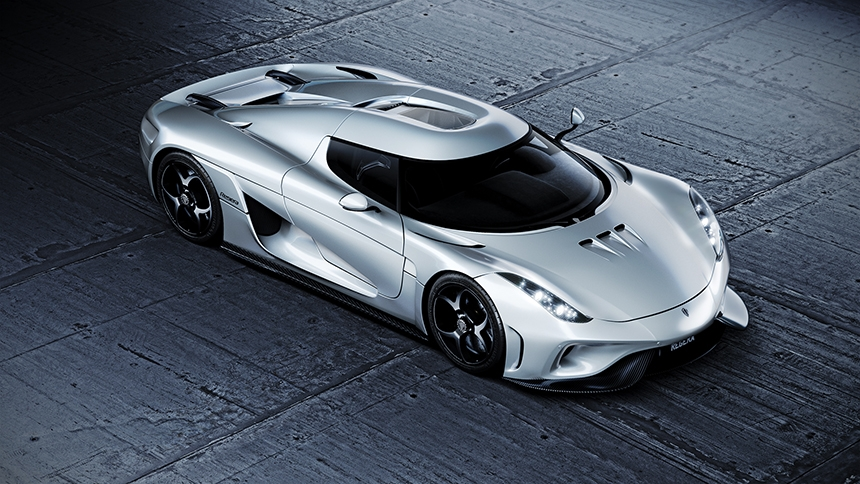 Agera lit with HDR Light Studio