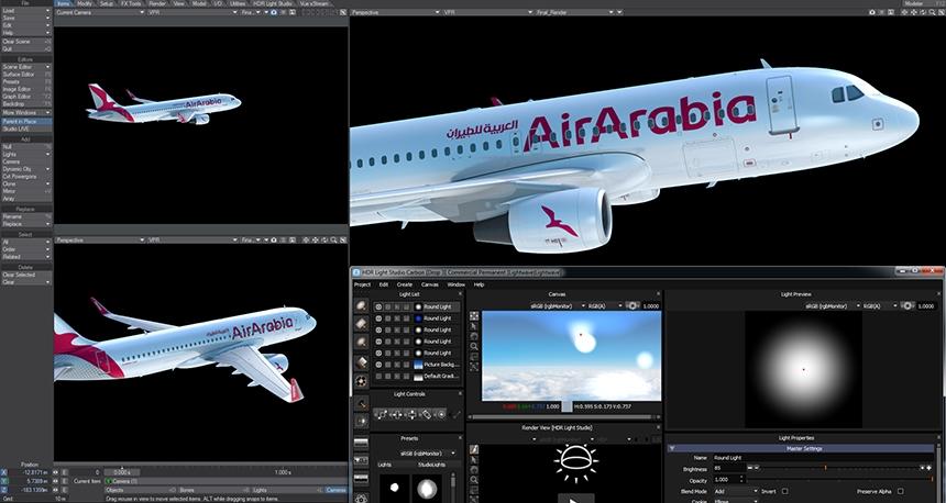 HDR Light Studio and LightWave 3D