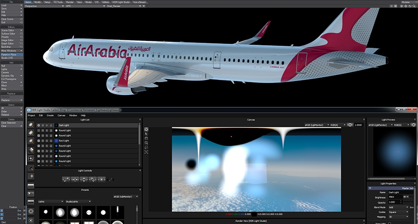 HDR Light Studio with LightWave