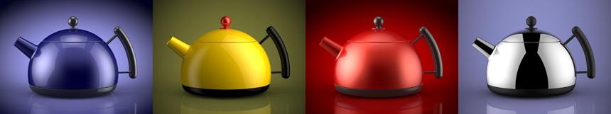 The HDR Light Studio kettle