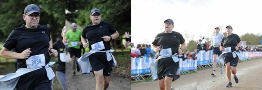 Mark Segasby training run
