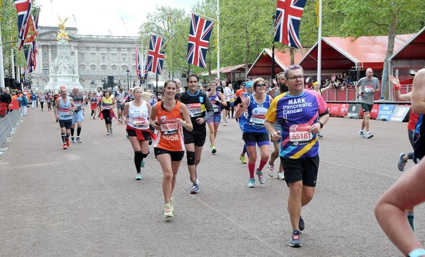 Mark Segasby - London Marathon