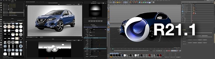 HDR Light Studio - Cinema 4D R21 Support
