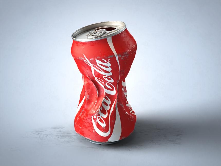 Coca-Cola can CGI