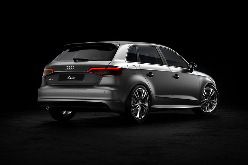 Audi A3 CGI back