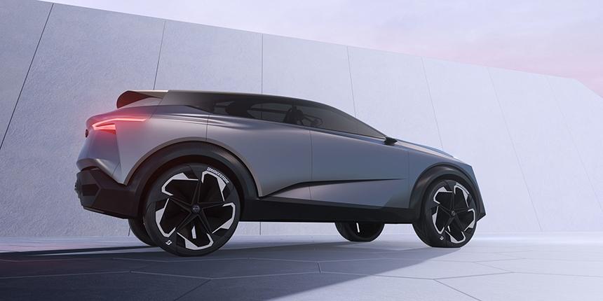 Nissan IMQ conept car CGI side