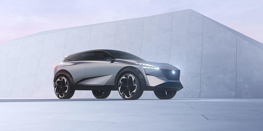 Nissan IMQ conept car CGI front