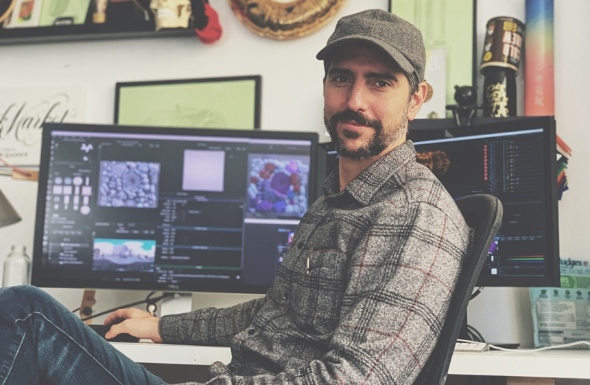 Alex Trochut using HDR Light Studio