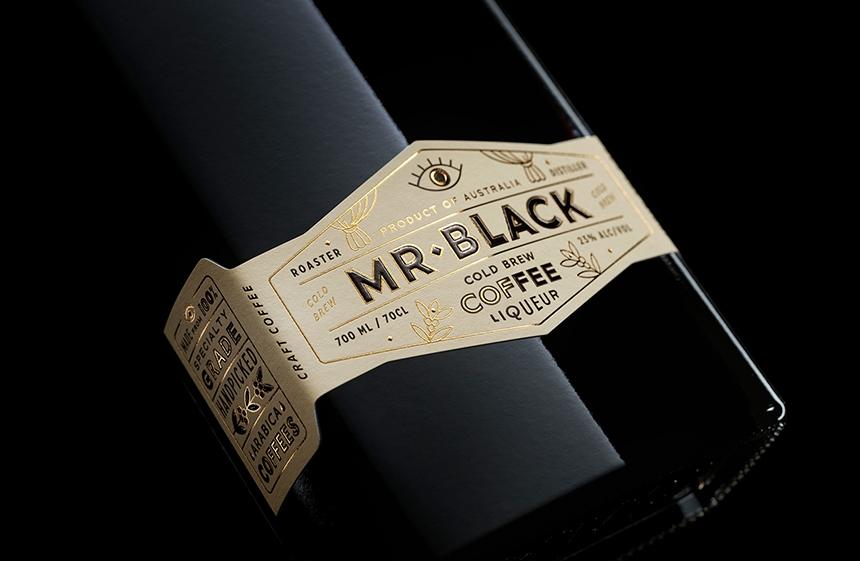 Mr Black Coffee Liqueur 3D CGI