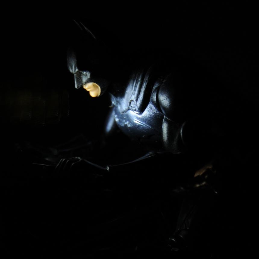 Detail lighting using snoot on LED pen