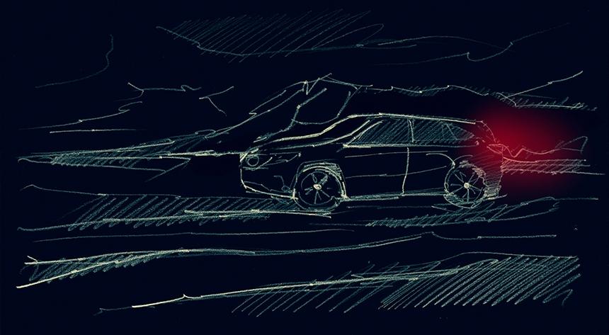 Mercedes-Benz EQC - Black Edition Concept (side view)