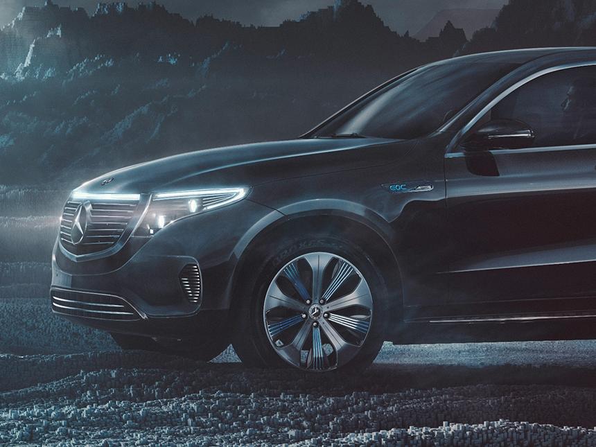 Mercedes-Benz EQC Detail CGI (part 1)