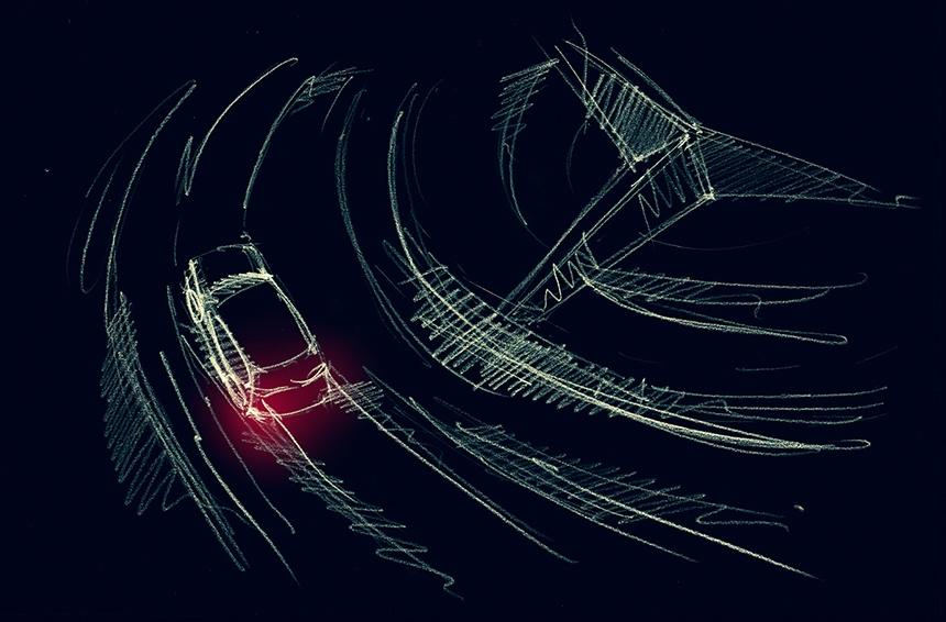 Mercedes-Benz EQC - Black Edition Concept (top view)