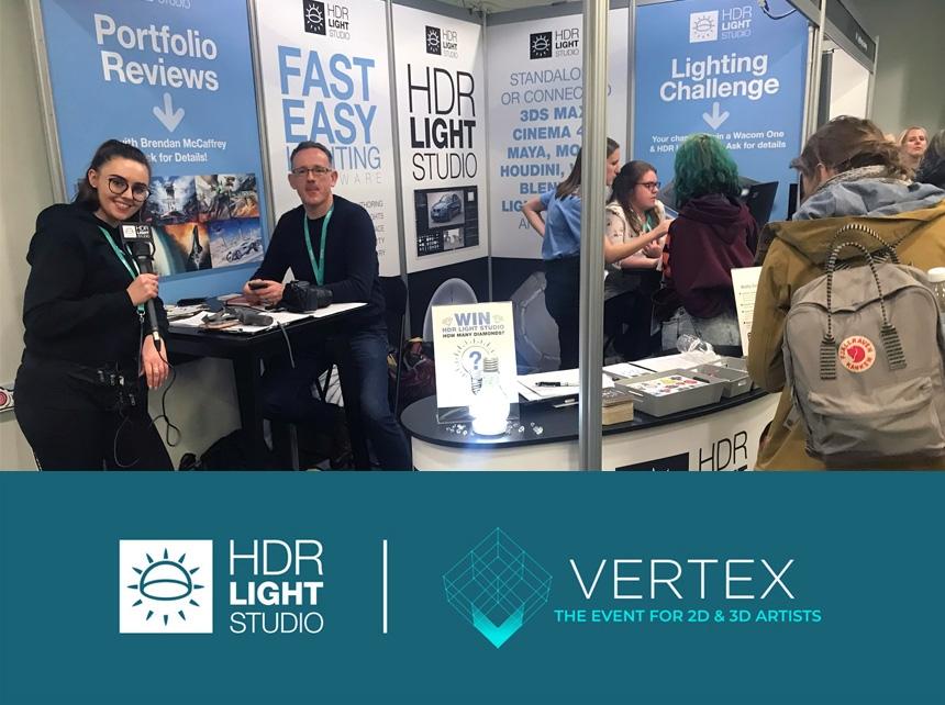HDR Light Studio at Vertex 2020
