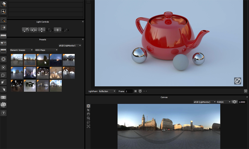 Create your own HDRI library