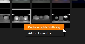 Replace Lights with Rig