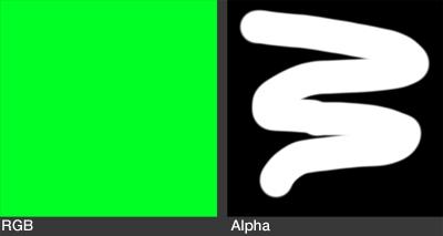 RGBA Texture for Blender Mesh Emitter