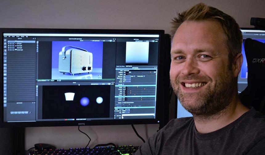 Craig using HDR Light Studio with Blender