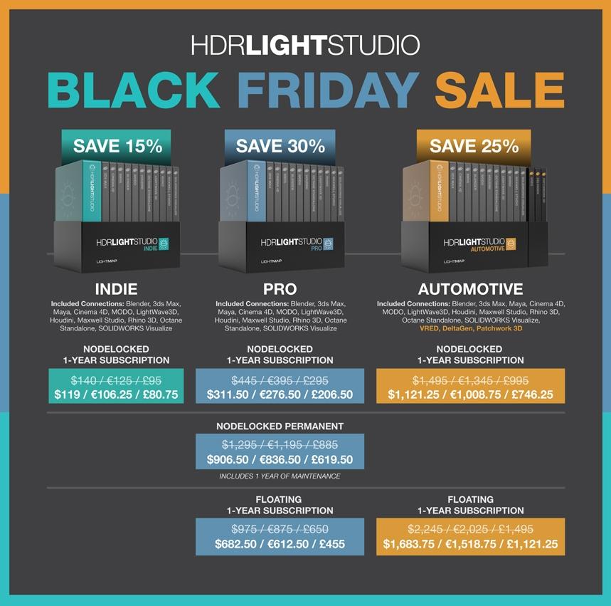 HDR Light Studio - Black Friday Sale 2020