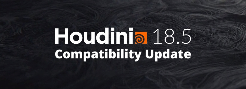 Houdini 18.5 Compatibility Update