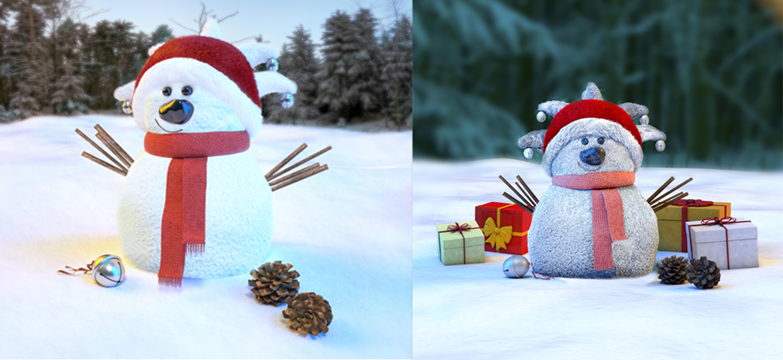 snowman-renders
