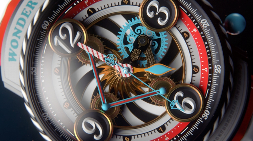 Render of Andre's Majestic Watch (top view)