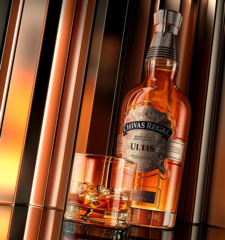 Render of Andre's Chivas Regal whiskey