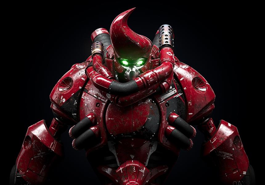 Maxman Character CGI