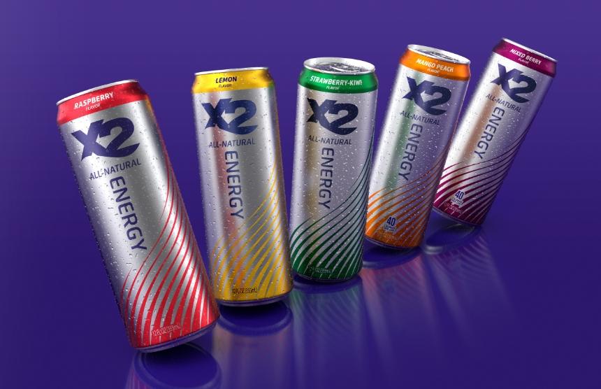 X2 Energy Drinks