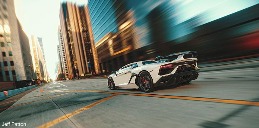 Motion Blur Automotive