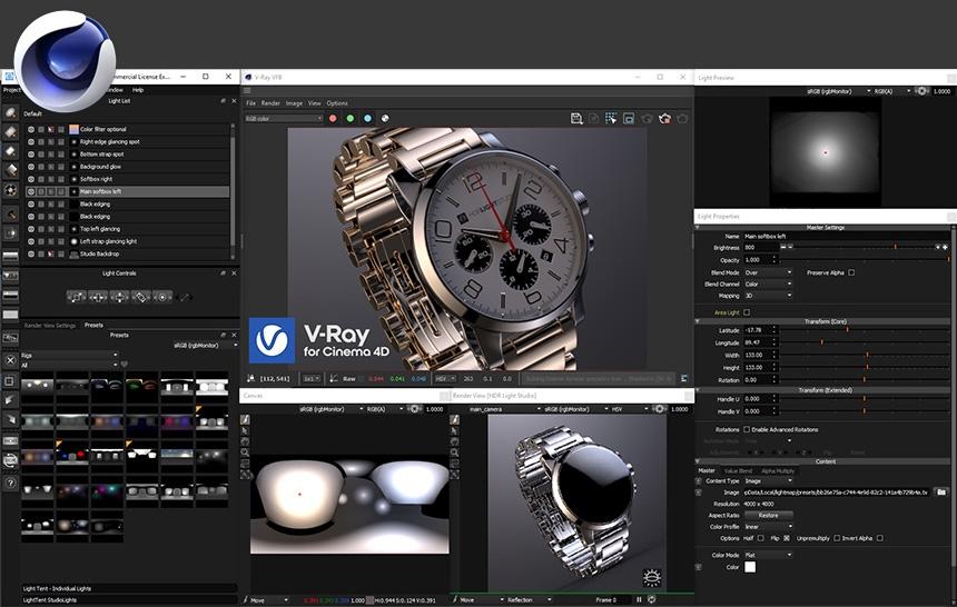 HDR Light Studio for Cinema 4D