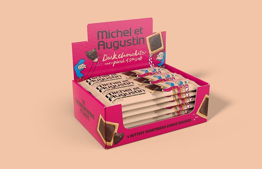Michel et Augustin Shortbread Cookies