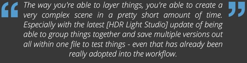 Alex Lyon talking about HDR Light Studio
