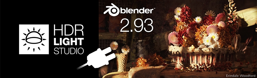 HDR Light Studio - Blender 2.93 Connection