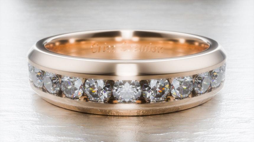 Diamond Ring by Frank Uhren & Schmuck