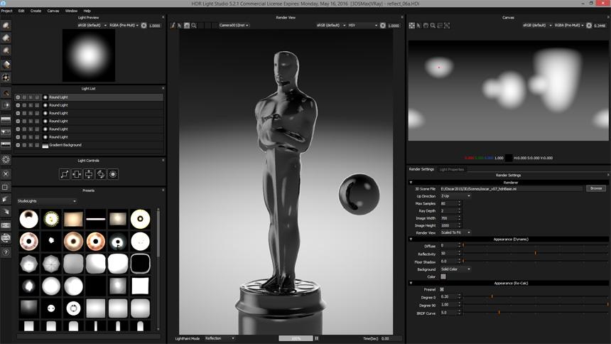 HBO The Oscar Night - HDR Light Studio