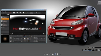 HDR Light Studio support comes to Autodesk Showcase Professional 2013