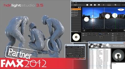 HDR Light Studio 3.5 is coming to Germany - FMX 2012