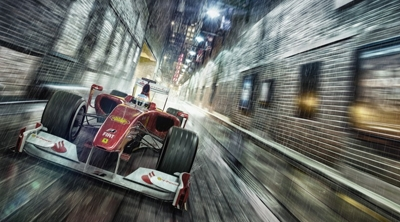 AIR-CGI - F1 on the streets of Chicago!