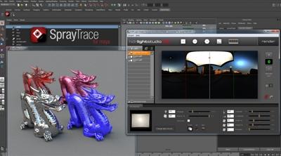 New HDR Light Studio plugin for SprayTrace