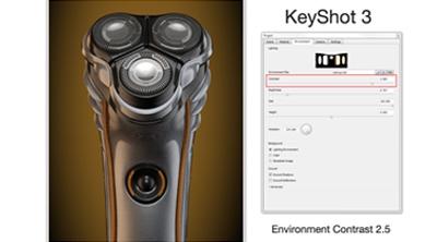 KeyShot 3 - HDRI Contrast Confusion?