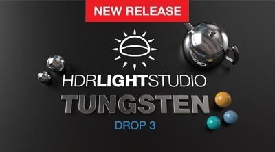 HDR Light Studio - Tungsten Drop 3 is released