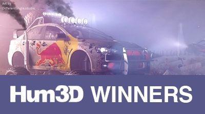 Hum3D - Car Render Challenge 2019 Winners