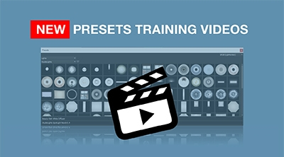 New Training Series for Presets