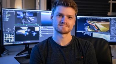 Daniel Vesterbaek: Choosing Blender for Automotive Rendering