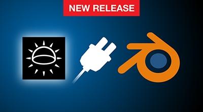 Lightmap brings HDR Light Studio to Blender