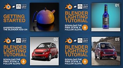 Free Blender 2.8 Lighting Tutorials